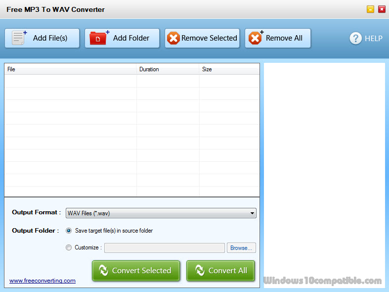 Free MP3 to WAV Converter Pro 1 0 Free download